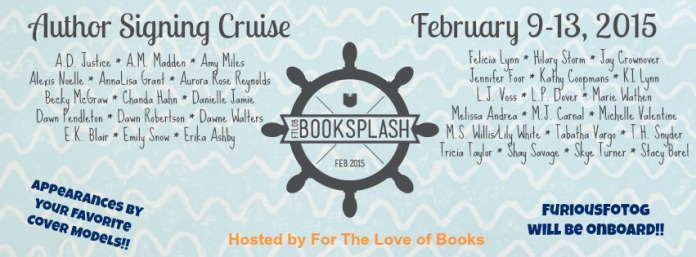 Book Splash Cruise Author Line-up