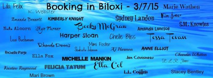 Booking in Biloxi Author Line-up