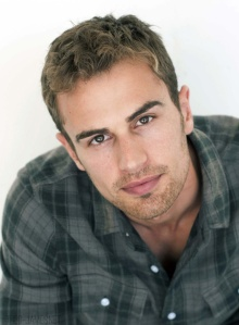Theo James  Brit with killer lips.  You're welcome.